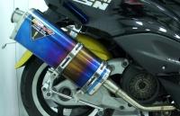 钛合金水滴型排气管