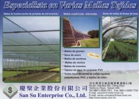 Cens.com Plastic textiles (netting, textiles) SAN SU ENTERPRISE CO., LTD.