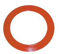 Corrugated serrated metal gaskets