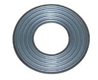 Corrugated metal high-pressure