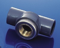 Plastic elbows (Brass Internal Thread Type are Available) and Forged Brass Valves Competicive Price