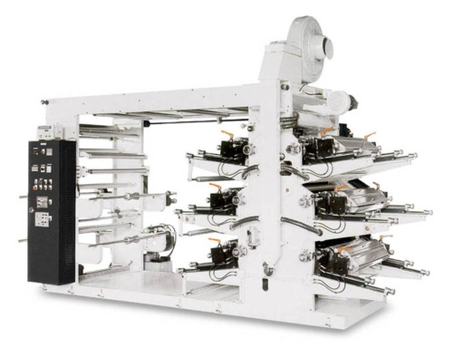 6 Colors Flexographic Printing Machine