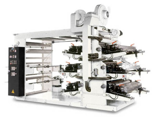 6 Colors Flexographic High Speed Printing Machine