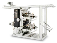 2 Colors Flexographic Printing Machine In Line