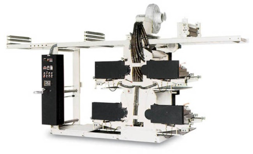 4 Colors Flexographic Printing Machine In Line