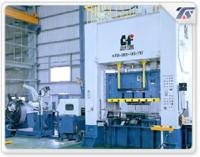 300T vertical pillar double crank press machine