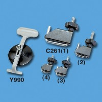 Universal Vacuum Clamp, Fluid Line Clamper Set