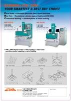 三軸可程式放電加工機