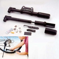 12 in 1 Bicycle Hand Pump and Repair Patch Kit