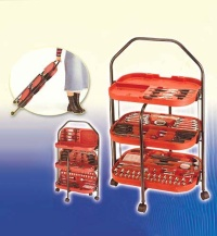 Foldable Serving Cart Tool Set