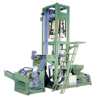 HDPE / LDPE / LLDPE High speed mini type inflation machine LC-HB series