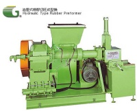 Hydraulic type rubber performer