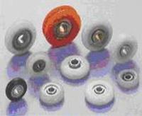 Polyacetal, Nylon bearings convex (Track) type-Non retainer