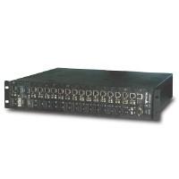 网管式插槽光纤转换器机架