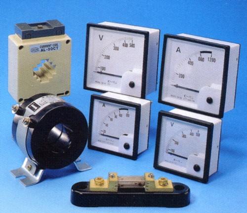 Amp. Meters/Volt. Meters, C.T. & Shunts