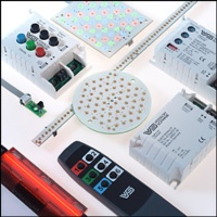 Components for lighting applications with LED