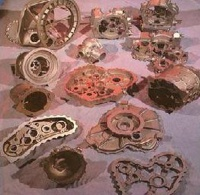 sand and gravity casting parts