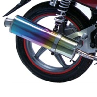 High-efficiency exhaust pipe