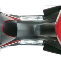 Large-sized, aluminum-alloy anti-slip footrest panel