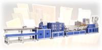 P.V.C PLASTIC WOOD COMPOSIT PROFILE EXTRUDING MACHINE