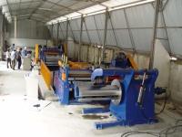 CNC steel sheet leveling & shearing machine