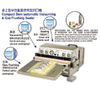 Cens.com Compact Semiautomatic Vacuuming & Gas Flushing Sealer U-V PACKING MATERIAL & MACHINE CO., LTD.