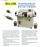 Cens.com Fully Automatic Double Flyer Armature Winding Machine WADO ELEC. ENG. CO., LTD.