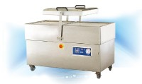 Transparent Dual Tranks Vacuum Packing Machine