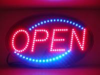 """LED """"OPEN"""