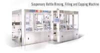 Suspensory Bottle Washing Filling Capping Machine
