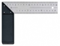 STAINLESS STEEL SQUARE WITH PLASTIC HANDLE