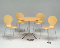 Dining Table & Chair Set / Stacking Chairs