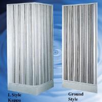 DIY PVC Folding Shower Enclosure