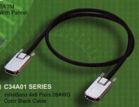 InfiniBand 4x8 Pairs 28AWG Color Black Cable