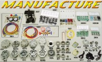 Car Air Conditioning & Refrzgeration Parts, A/C Compressors Core, O-ring Kit, Orifice Tubes, OEM Pla