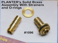 Planter````s Solid Brass Asembly With Strainers and O-rings