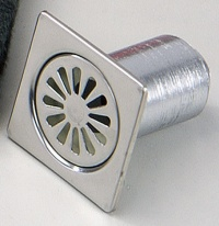 Stainless steel drain flanges