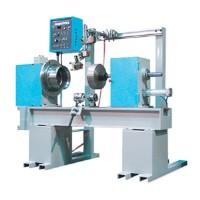 Horizontal automatic seam welding tables