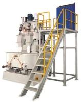 雙槽高速混合機+雙槽立式冷卻攪拌機整組系列