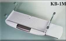 Under-Desk   Computer Keyboard Drawer   With Mouse Tray