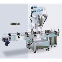 Auger Type Automatic Bottle / Can Metering Filling Machine