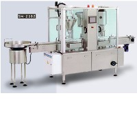 Automatic Powder Filling and Cap Sealing Machine