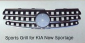 Cens.com Sports Grill for KIA New Sportage 錦錩貿易有限公司