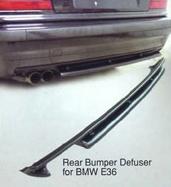 Rear Bumper Defuser for BMW E36