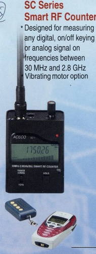 Handheld Smart Radio Frequency Counters